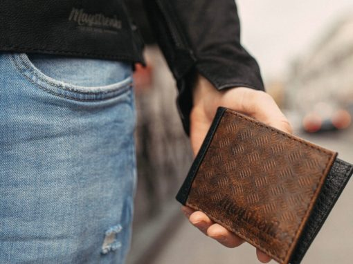 Rusty Black Wallet